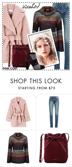 """""""Winter fashion"""" by boky-d ❤ liked on Polyvore featuring Carven, Yves Saint Laurent, Joe Browns, Felix, Mansur Gavriel and Roberto Festa"""