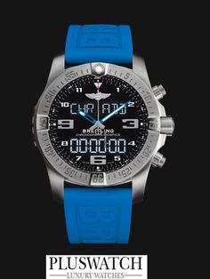 Breitling Chronograph Exospace B55 Titanium Black Dial 46mm