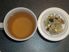 Día 240: #infusión de hojas de #olivo con caramelo y frutas Paraíso de Olivos de @soloinfusiones
