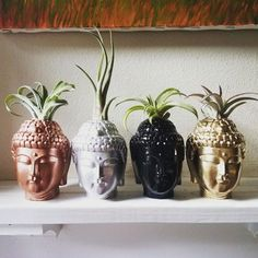 Buddha planter with plant, air plant holder, Thai Buddha, spiritual gift Stone Buddha Statue, Buddha Home Decor, Global Decor, Buddha Sculpture, Spiritual Gifts, Handmade Home Decor, Plant Holders, Inspirational Gifts, Air Plants