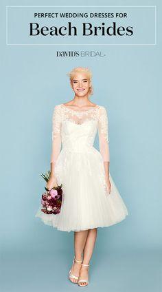 141944e30af 285 Best Beach Wedding Dresses and Ideas images