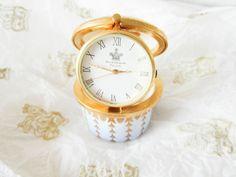 WATCH TRINKET QUEEN ELIZABETH II DIAMOND JUBILEE ROYAL FINE BONE HANDMADE Queen Elizabeth Ii, Watch, Diamond, Random, Handmade, Ebay, Clock, Hand Made, Diamonds