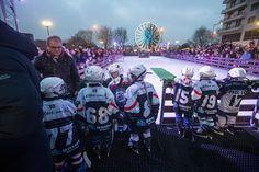 Ouverture de la patinoire temporaire installée place Lorraine. (Photo: Thierry Bonnet/Ville d'Angers)