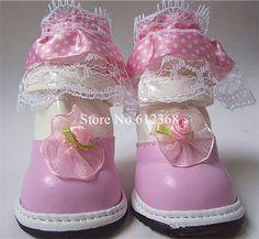 20 PU de couro sapatos cão de estimação sapatos Pet cão sapatos de inverno botas de neve quente(China (Mainland))