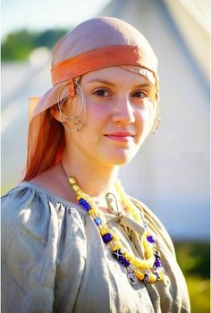 Medieval Slavic costume of Ancient Russia: Krivichi