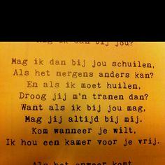 Van Claudia de Breij. Simple Sayings, Because I Love You, True Love Quotes, Music Lyrics, Beautiful Words, Poems, Inspirational Quotes, Wisdom, Letters