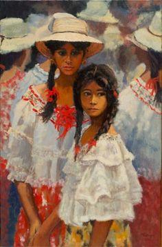 Sprague Art - polleras-and-montunas-of-panama