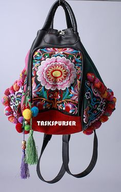 Hey, I found this really awesome Etsy listing at http://www.etsy.com/listing/128552694/backpack-book-bag-handmade-hmong-vintage