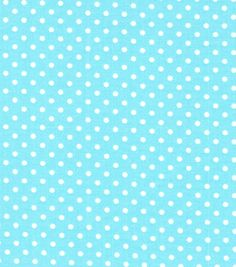 $2.99/yd joann Quilter's Showcase Fabric- Pin Dot Aqua & WhiteQuilter's Showcase Fabric- Pin Dot Aqua & White,