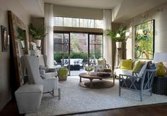 2012 HGTV Green Home - transitional - family room - atlanta - by Kemp Hall Studio