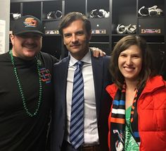 Great #stpatricksday  Gulls win in Texas.  Thank you @dallas_eakins for the behind the scenes hospitality.  Could not be more impressed with the hard work the @sdgullsahl front office put in to prove they appreciate their partners.