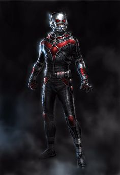 Ant Man Concept Art by Andy Park