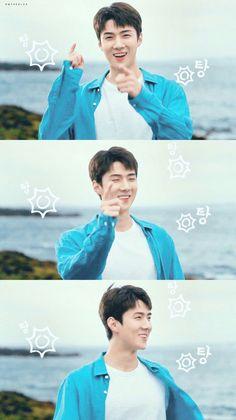 Pin by Dilara Akgün on exo ♡ Kaisoo, Chanyeol, Exo Ot12, Sehun Cute, Smile Wallpaper, Types Of Boyfriends, Exo Lockscreen, Social Trends, Kpop Exo