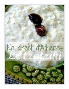 Τζατζίκι (Re)trouvez la véritable recette du tzatziki grec de vos vacances ! Ingrédients : 500 g de yaourt grec (l'épais) 1/2 tasse à café d'huile d'olive 1 càs de vinaigre 1/2 gros concombre 1 à 2 gousses d'ail (c'est comme vous aimez) 1 beau bouquet... Chimichurri, Clean Recipes, Cooking Recipes, Salsa, Dressing, Greek Recipes, Entrees, Comme, Brunch