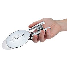 TO BOLDLY GO WHERE NO PIZZA CUTTER HAS GONE BEFORE!  Star Trek Enterprise D Pizza Cutter