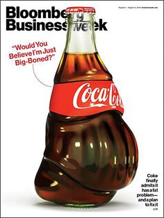 Bloomberg Businessweek Fattens Up Coke for Its Cover - Print (image) - Creativity Online