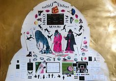 cm, sticker and stencil on bristol, 2015 Dada Art, Paper Artwork, Pink Panthers, Painted Paper, Buy Art, Fields, Saatchi Art, Stencils, Street Art
