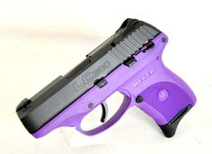 "Ruger LC380-PG Purple .380 ACP. The LC380 from Ruger is a compact pistol, great for CCW. It is the same size as the popular LC9, but with the reduced recoil of .380 ACP.  It feaures a high performance glass-filled nylon frame, alloy steel slide and barrel, and adjustable 3-dot sights. Purple frame with black slide. 7+1 capacity of .380 acp. 3.12"" barrel. 17.20 oz. [New in Box] $399.99"