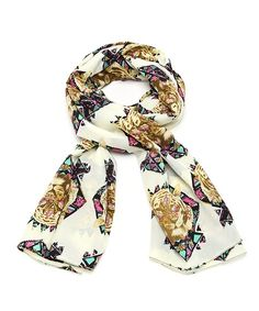 Tribe of the Tiger Scarf - Ivory