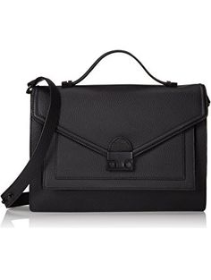 LOEFFLER RANDALL Rider-TL2 Top Handle Bag,Black,One Size ❤ LOEFFLER RANDALL