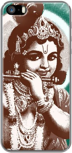LORD KRISHNA-3 COLOUR By The Griffin Passant for iPhone 5/5s