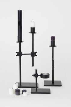 Ljusstake i metall - Svart - Home All | H&M SE 2