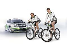 Škoda Motorsport Bicycle Lineup