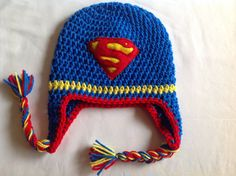 Great Picture of Crochet Superhero Hat Patterns Crochet Superhero Hat Patterns Crochet Superhero Wwwtopsimages Crochet Boot Cuffs, Crochet Boots, Crochet Baby, Superhero Hats, Baby Superhero, Superman Crochet, Captain America Hat, Crochet Christmas Hats, Crochet Patterns