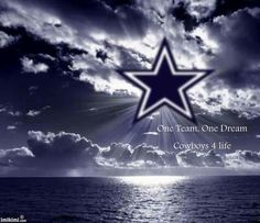 """""""One team, one Dream"""" Dallas Cowboys ladies and gents. Dallas Cowboys Quotes, Dallas Cowboys Wallpaper, Dallas Cowboys Pictures, Cowboys 4, Dallas Cowboys Football, Football Team, Cowboys Memes, Football Spirit, Football Fever"""