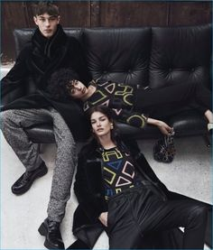 Emporio Armani Channels Relaxed Cool with Fall Campaign