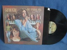 Vintage Carole King  The Greatest Hits Vinyl LP by sweetleafvinyl