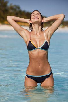 Slide View: 5: Tavik Jett Triangle Bikini Top