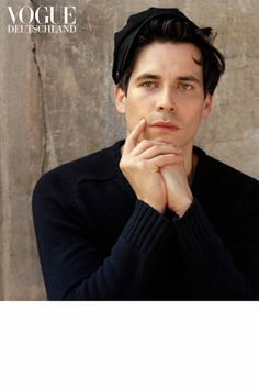Downton Abbey's Rob James-Collier for Vogue Germany. Photographed by Bruce Weber.