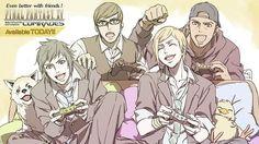Final Fantasy XV Comrades Multiplayer Expansion Available Now - RPGFan Final Fantasy Xv, Fantasy Series, Fantasy Art, Prompto Argentum, Noctis, Cartoon Shows, Kingdom Hearts, Video Games, Fan Art