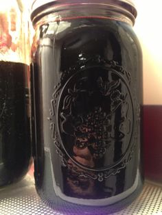 Homemade elderberry syrup!  Will be making this today.