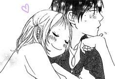 Strobe Edge, Romantic Manga, Manga Couple, Black N White, I Fall In Love, Fangirl, Fandoms, Draw, Adventure
