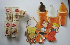 Vintage Dennis the Menace Dairy Queen Display and old cups Shakeys Pizza, Fast Food Advertising, 1970s Decor, Dennis The Menace, Baskin Robbins, Dairy Queen, Oldies But Goodies, Googie, My Childhood Memories