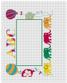 Cuadro bordado para calendario de clases - Hogarmania