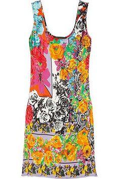 Versace Tank Dress #versace #bullett