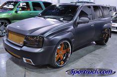 Gm Trucks, Cool Trucks, Chevy Trucks, Chevrolet Trailblazer, Gmc Envoy, Chevrolet Blazer, Sexy Cars, Car Audio, Custom Cars