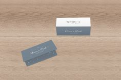 Marque-place mariage Étoile by Tomoë pour www.rosemood.fr #wedding #weddingtable #placecard