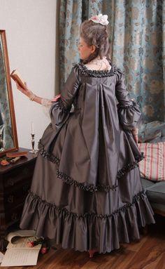 "Historical Accuracy Reincarnated - 18th Century""Brunswick"" Dress Source"