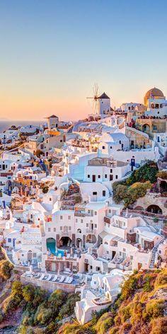 De mooiste foto's van Santorini, Griekenland. #griekenland #greece