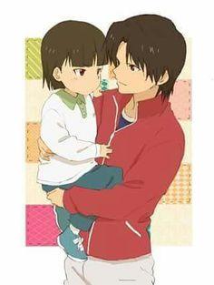 Little Ryuuji and Ouzou
