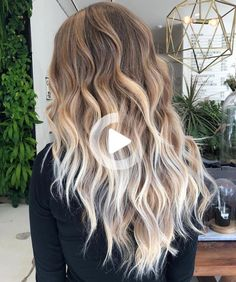 Haircut With Layers For Thick Long Hair Brown To Blonde Ombre, Ash Blonde Hair, Platinum Blonde Hair, Haircuts For Long Hair With Layers, Long Hair Cuts, Layered Haircuts, Damp Hair Styles, Short Hair Styles, Light Brown Hair