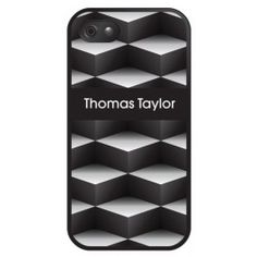 Personalised Cubes Design iPhone Cover