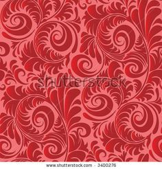 bedroom wallpaper pattern red - Bing Images