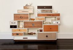 Many stacked small cabinets make one stylische large one | Dalani Home & Living Magazine