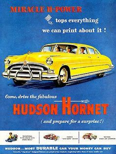 """The very popular Camrao A favorite for car collectors. The Muscle Car History Back in the and the American car manufacturers diversified their automobile lines with high performance vehicles which came to be known as """"Muscle Cars. Hudson Hornet, Pub Vintage, First Time Driver, Pontiac Gto, Chevrolet Impala, Us Cars, Boat Plans, Advertising Poster, Car Insurance"""