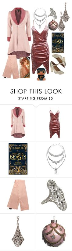 """""""Queenie Goldstein Inspired"""" by alannakelsey ❤ liked on Polyvore featuring Gatsby, Vintage and Funko"""